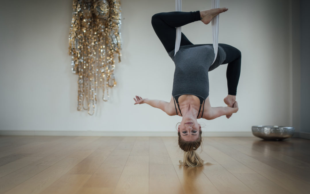 Yasmin Strong Aerial Yoga Photography – Grace & Gravity