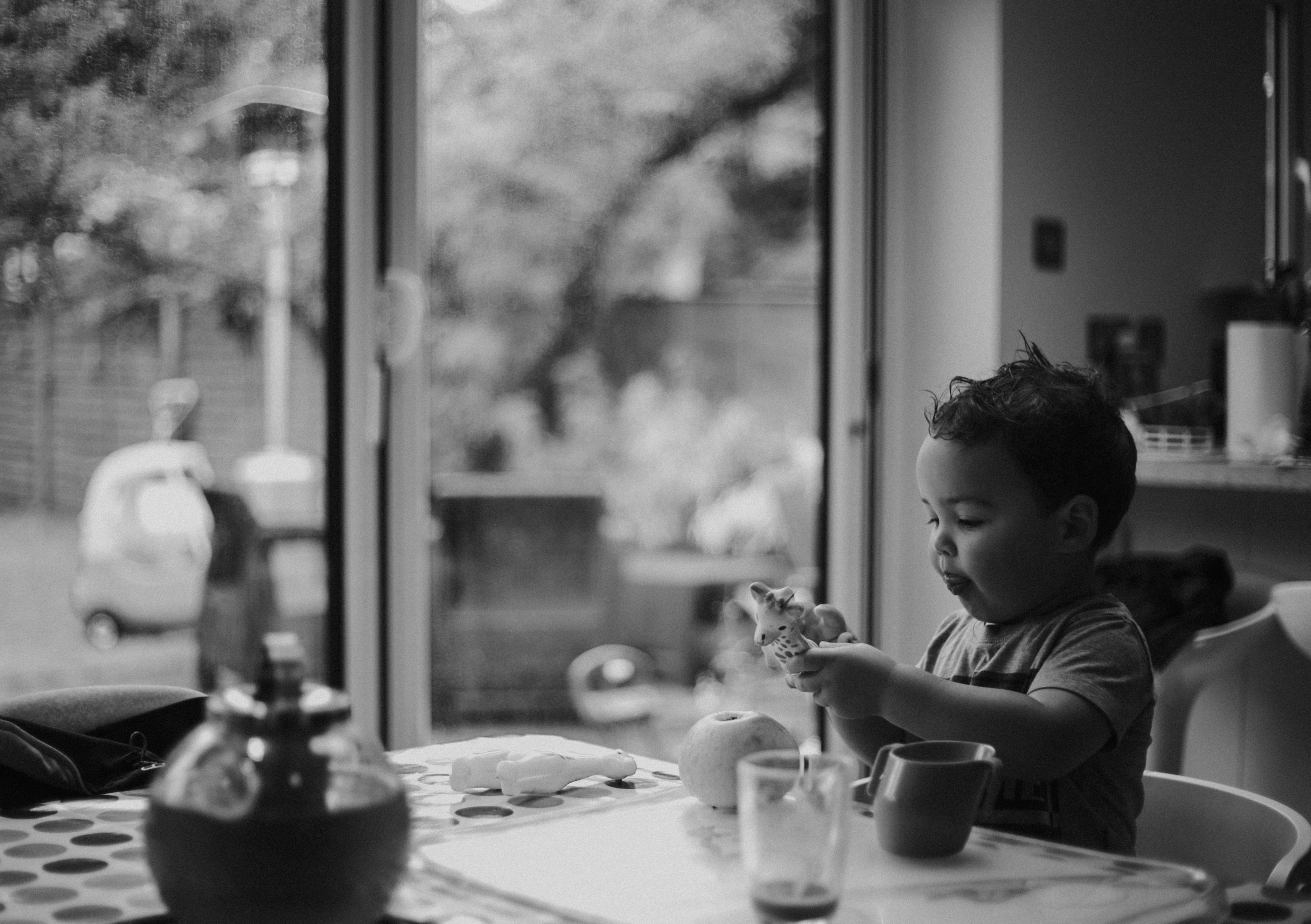 black and white toddler photography Reading Berkshire