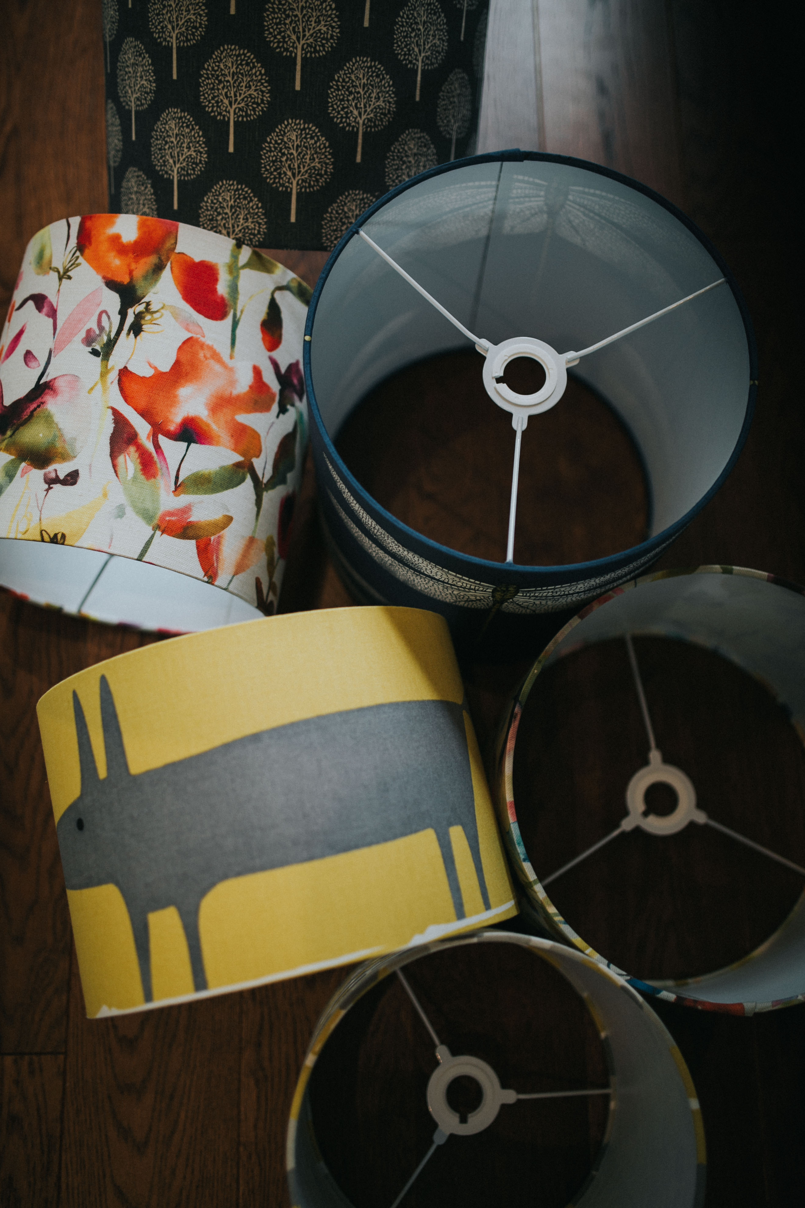 Mr Fox lampshade - Sapna Odlin Photography Funky Olive Interior Design