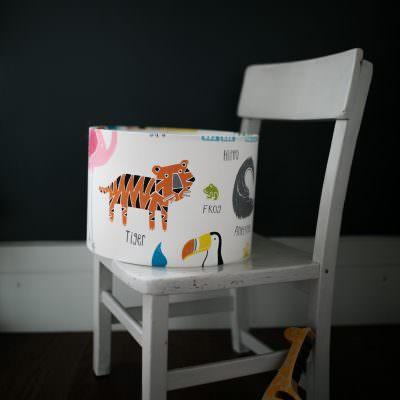 Animal lampshade - Sophie Handa Interior Design