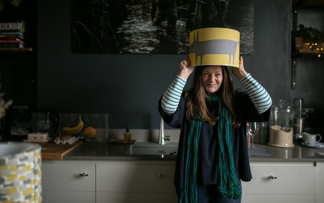 Bespoke Handmade Lampshades – Sophie Handa FunkyOlive Interior design