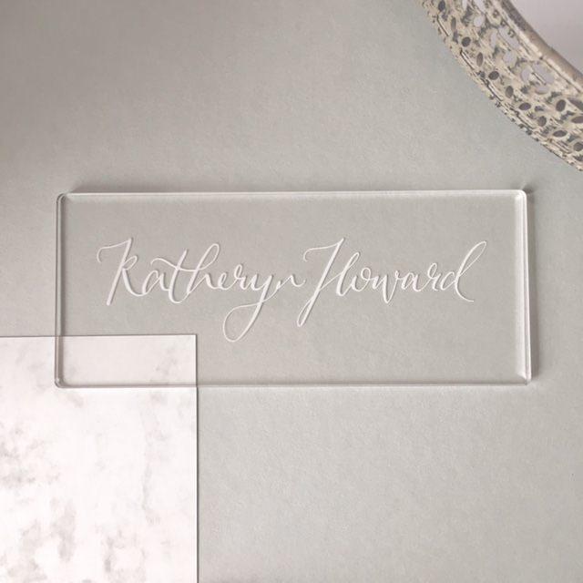 Victoria Blüm Calligraphy – Berkshire Sophisticated Wedding Stationery