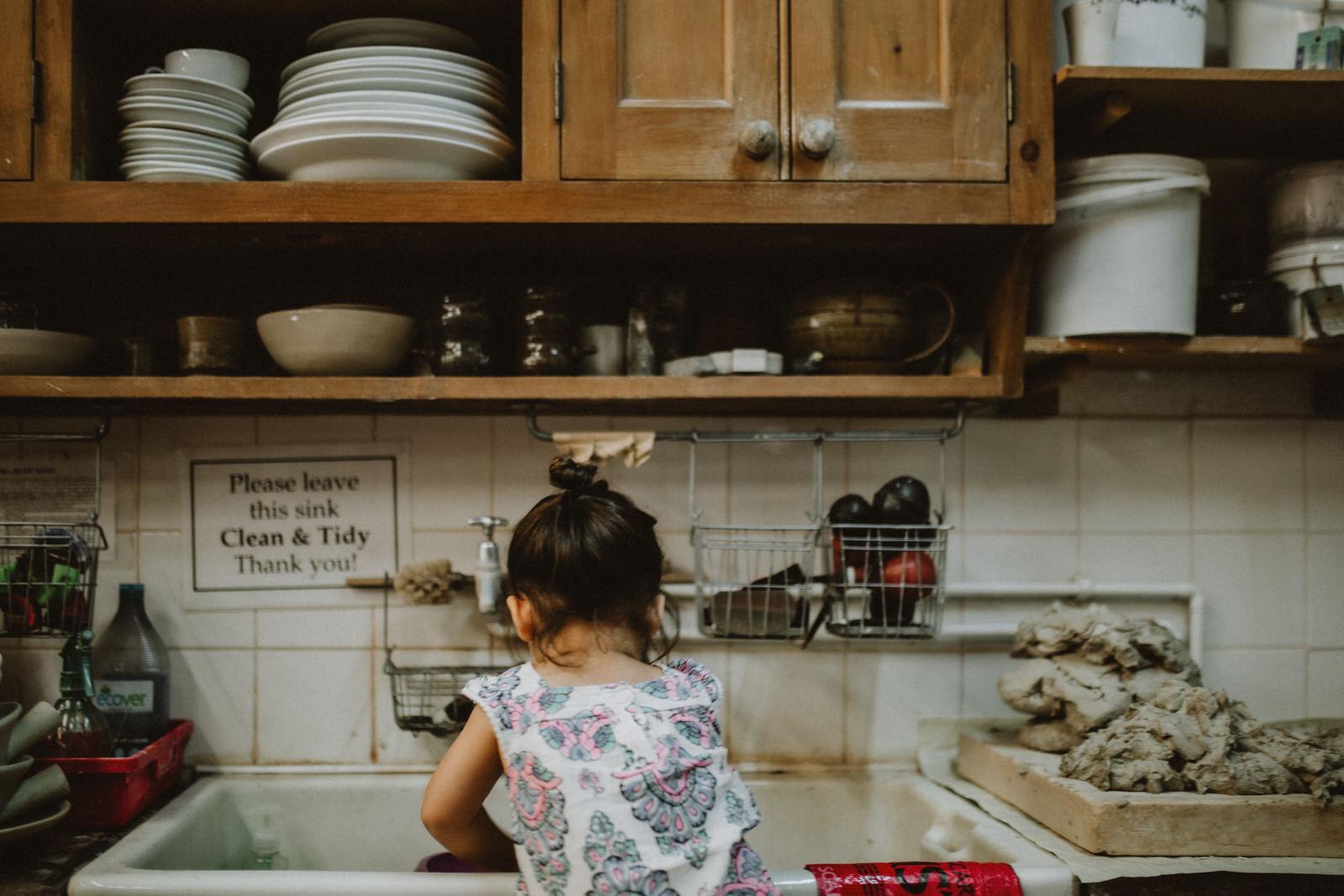Penny Eccles Toddler Pottery Farnham Maltings
