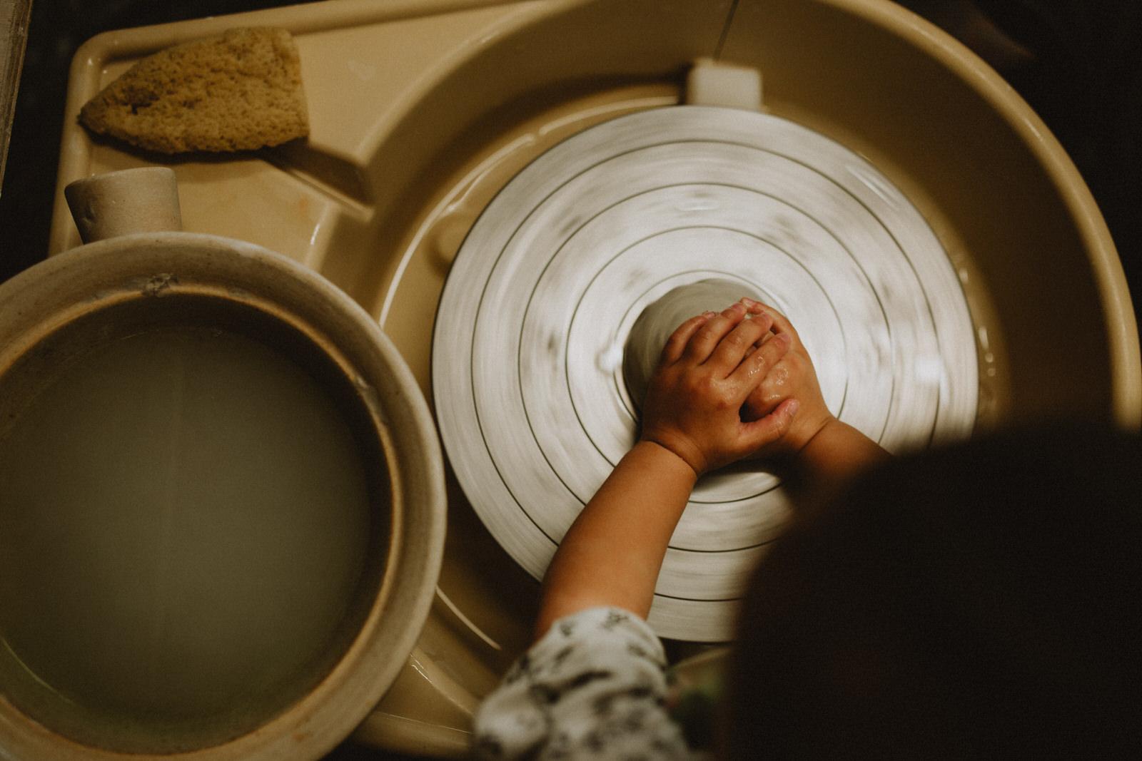 Penny Eccles Toddler Pottery Farnham Maltingss