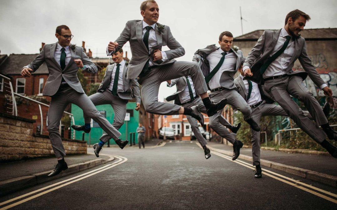 Urban Wedding @ The Hide Sheffield   Groom Prep